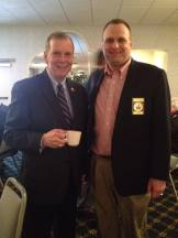 With Congressman Walberg at his Legislative Luncheon